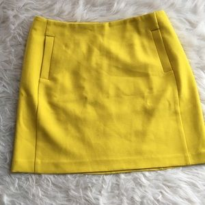 Banana Republic mini skirt 10 pockets